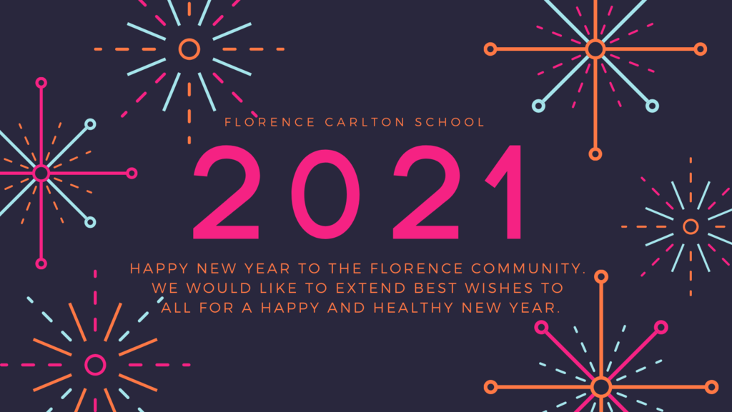 Happy New Year 2021  Florence School
